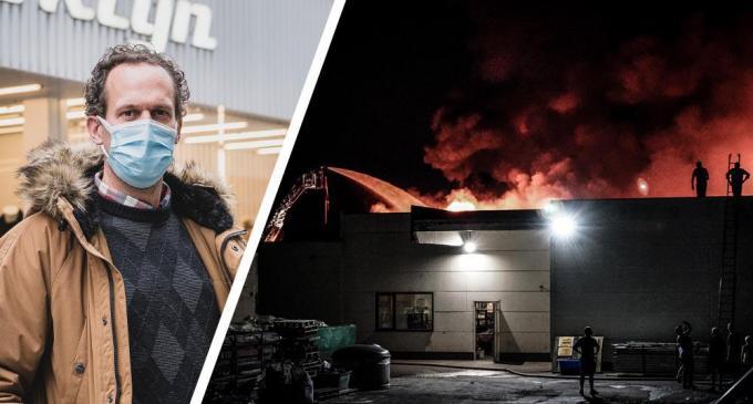 Ubbe Descamps (foto inzet) is de zaakvoerder van kledingketen Brooklyn.© OV/CLL