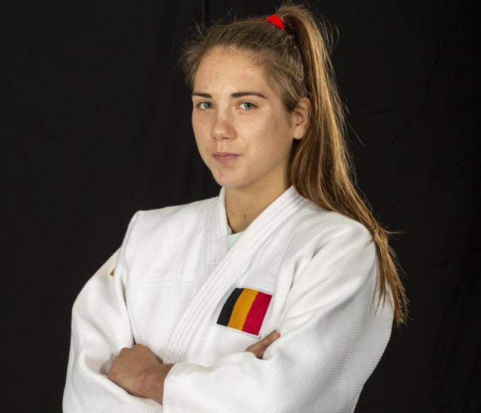 Judoka Amber Ryheul.© gf