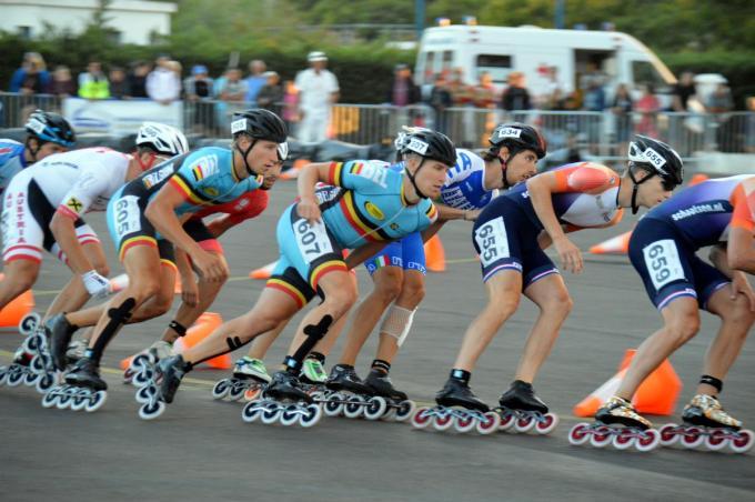 Op zaterdag 12 juni wordt een eerste skeelerwedstrijd georganiseerd in de Mundialpiste in de Egellaan in Zandvoorde.© FRO