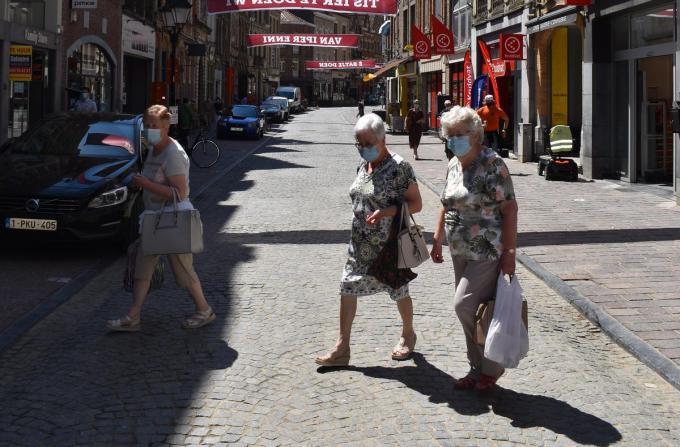 Vanaf 14 juni zal het in de Boterstraat niet meer verplicht zijn om een mondmasker te dragen. (Foto TOGH)