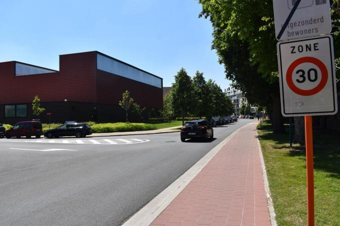 De Plumerlaan is een zone 30, maar volgens Jan Breyne rijden bestuurders er vaak te snel. (Foto TOGH)