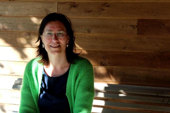 Charlotte Vanrobaeys besteedt heel veel van haar vrije tijd aan de Sint-Michielsbeweging Waregem.© (Foto DJW)