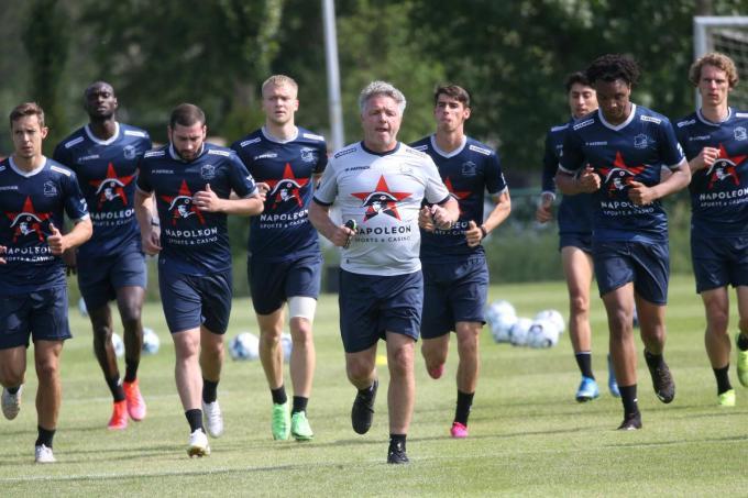 Eerste training SV Zulte Waregem.© VDB