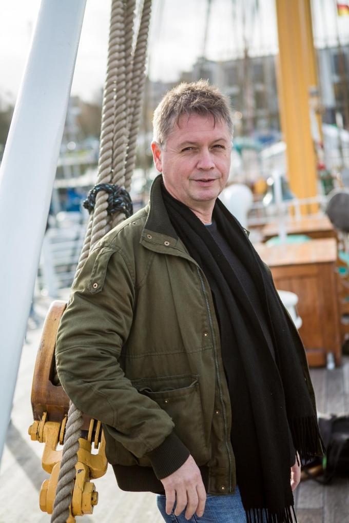 """Oostendenaar Douglas De Coninck gelooft in de onschuld van Wim S.: """"Hij kan die moord niet gepleegd hebben."""" (Foto Davy Coghe)©Davy Coghe Davy Coghe"""