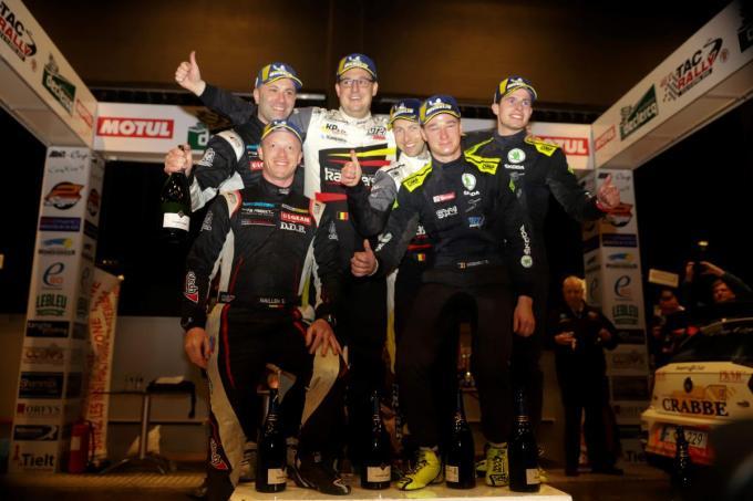 De TAC Rally van 2019 werd gewonnen door Kris Princen en copiloot Cédric Cherain .©VDB / Marnix Goemaere foto a-Bart