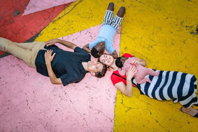 """Hannes Coudenys: """"Deborah en ik zijn met ons gat in de boter gevallen met onze kinderen.""""© Christophe De Muynck"""