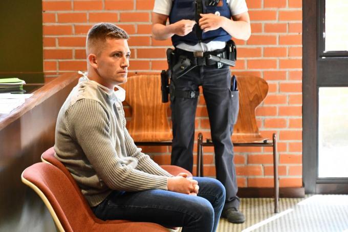 Tommy Jonckheere op een vorige zitting: aanvankelijk zou het een correctionele zaak worden, maar later werd toch gekozen voor Assisen.© Arne Franck