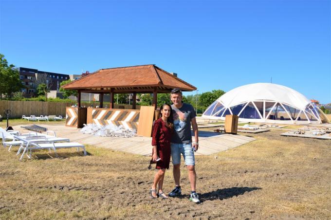 Het EK-dorp van Sven Vermoortele en Joanne Roberts is open vanaf 11 juni. (foto WK)