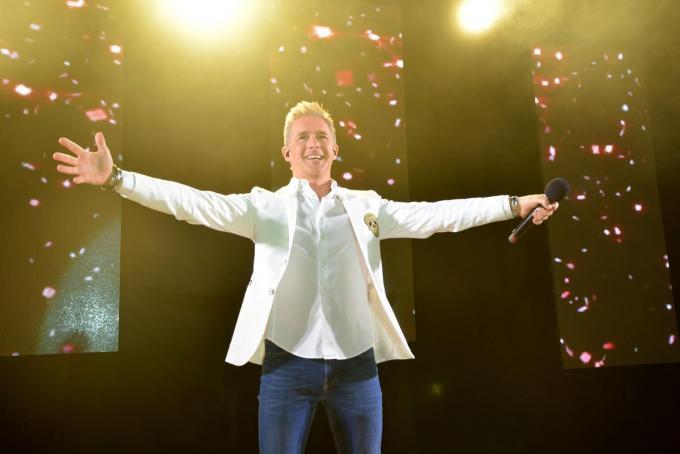 Niet enkel Willy Sommers, maar ook Christoff treedt op zondag 4 juli op in de Ghelamco Arena.© PADI/Jens