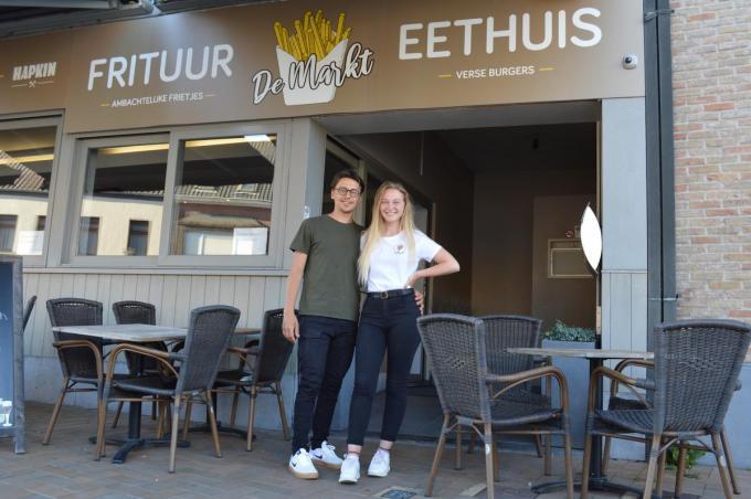 Anton Huilmand en Sarah Claeys