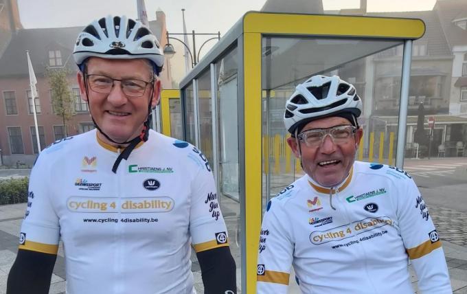Johan De Baene en Erwin Van Kerschaver. (foto AVH)