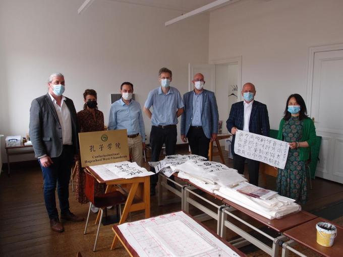Howest en zijn Confuciusinstituut starten binnen de bacheleropleiding bedrijfsmanagement de eerste richting 'Chinese business studies' in ons land.© RJ