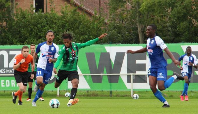 Cercle Brugge oefent net als vorig seizoen tegen US Dunkerque.© ACR