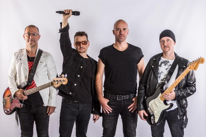 The Belgian U2 Experience: Geert, Nick, Mathieu en Franky. (foto U2be)
