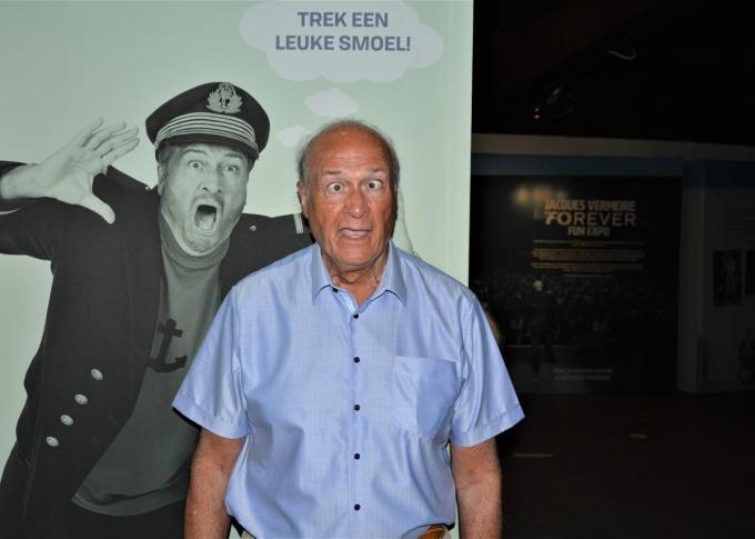 Smoelen trekken? Dat kan Jacques Vermeire als de beste.© WK