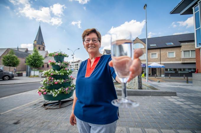 Burgemeester Carine Dewaele van Lendelede is tevreden met de score van de Gemeente- en Stadsmonitor. (foto Frank)© Frank Meurisse