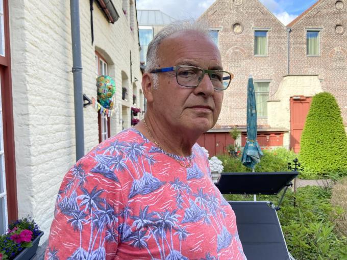 """Freddy Catry, de vader van David: """"Als de Belgische regering niets doet, kwijnt hij daar weg. En ik wil mijn jongen nog eens terugzien.""""© Kurt Vandemaele"""