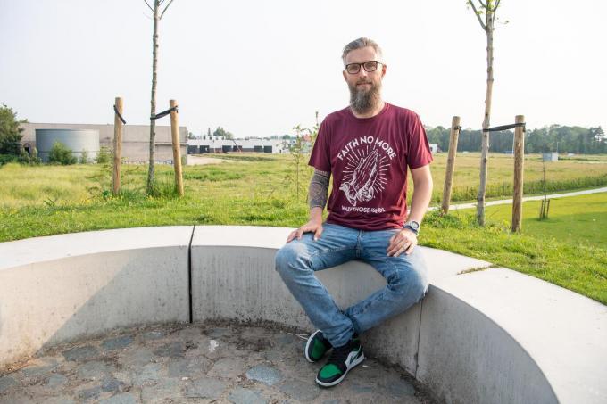 """Brecht Vandewalle: """"Je zou minstens 20 minuten per dag in de natuur moeten doorbrengen.""""© Frank Meurisse"""