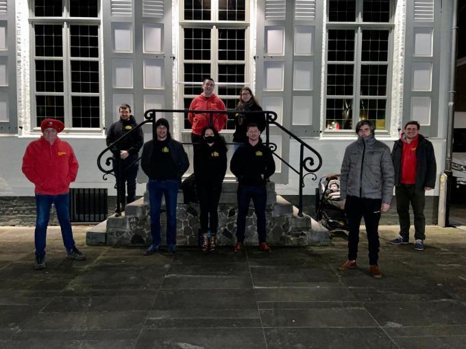 De leden van de vzw Den Bunker: nieuwe gezichten, nieuwe plannen, nieuwe moed.© AVH