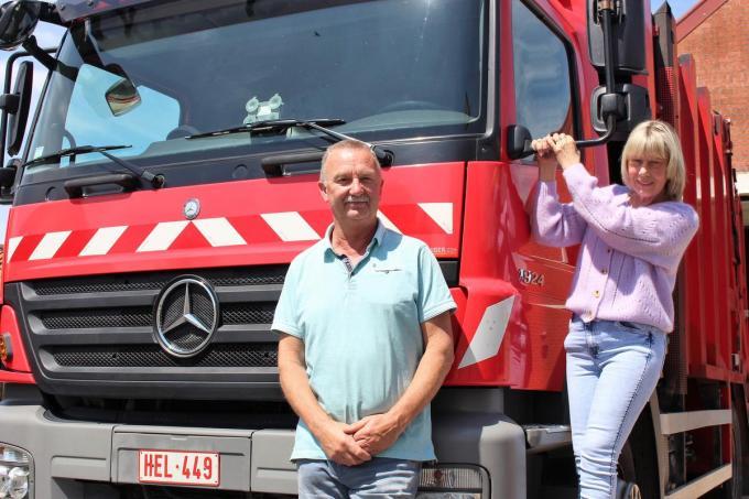 Eddy Decloedt en Aline Knockaert zetten eind deze maand een punt achter hun carrière.© Laurette Ingelbrecht