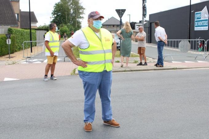 Seingever Luc geniet van het vele volk.© EC