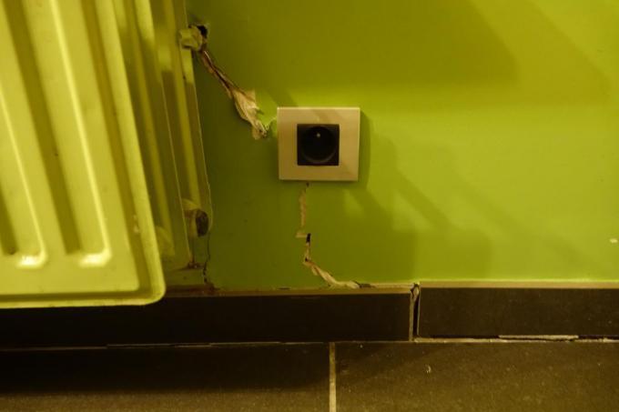 De verzakkingen in de kleigrond doen huizen in de regio Kortrijk scheuren.© a-AN