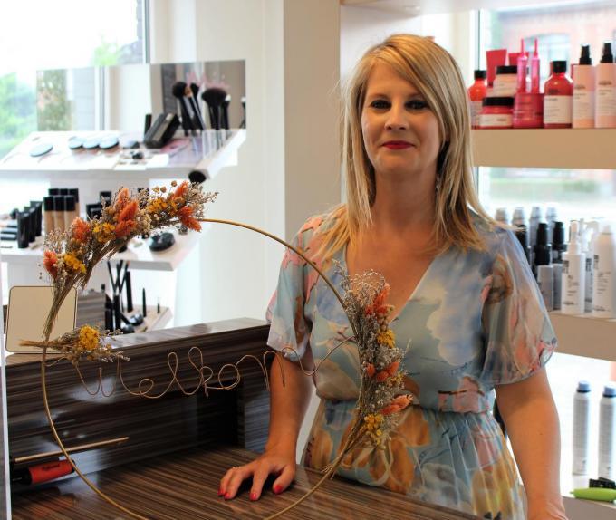 """Charlotte Martens is Ambassadeur van Oudenburg voor ikkooplokaal. """"Een titel die ik met trots zal dragen.""""©Laurette Ingelbrecht"""