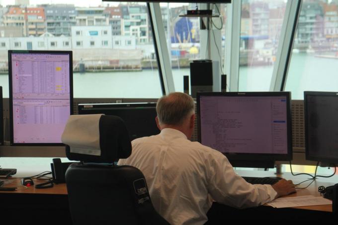 Het MRCC in Oostende staat zoals altijd klaar om reddingsoperaties op zee te coördineren.© HH
