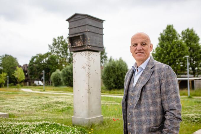 Dat het Vrijheidsmonument een eerbetoon is aan Letse nazi-collaborateurs, is volgens schepen Jürgen Dehaemers (CD&V) kort door de bocht.© Davy Coghe