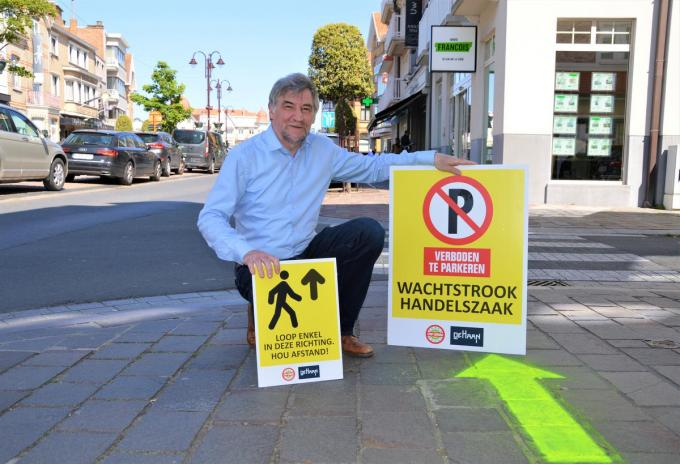 De corona-situatie ziet er steeds beter uit voor burgemeester Wilfried Vandaele.© WK
