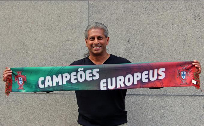 Ricardo De Almeida zag zijn geboorteland Portugal in 2016 reeds Europees kampioen worden. Hij hoopt nu op winst tegen de Belgen.© ACR