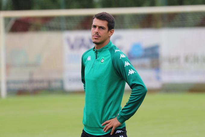 Kevin Hoggas zorgde voor het doelpunt van Cercle Brugge.© ACR