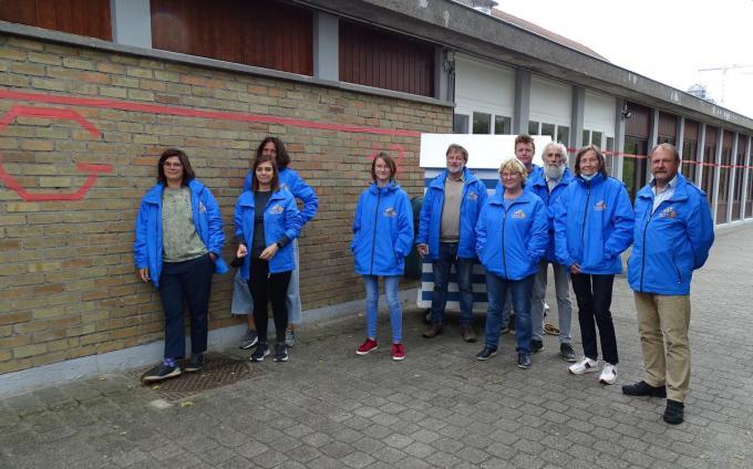Het team van Horizon Educatief bij de RODE LIJN in Duin en Zee.© FRO