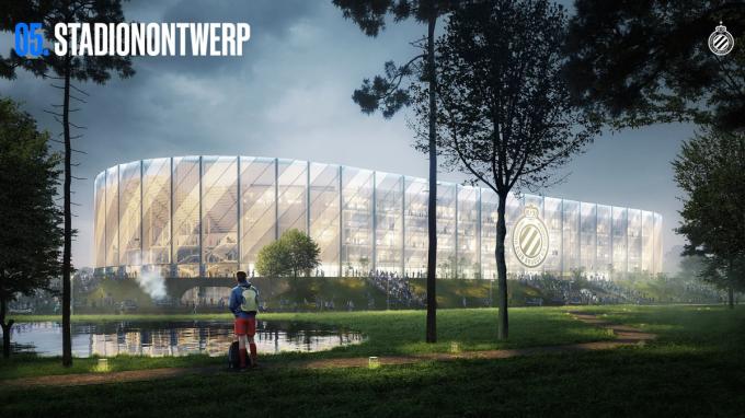 Zo zal het nieuwe Clubstadion eruit zien.
