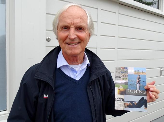 Wijlen Freddy Qvick bij de presentatie van zijn inspiratieboekje.© Fons Roets