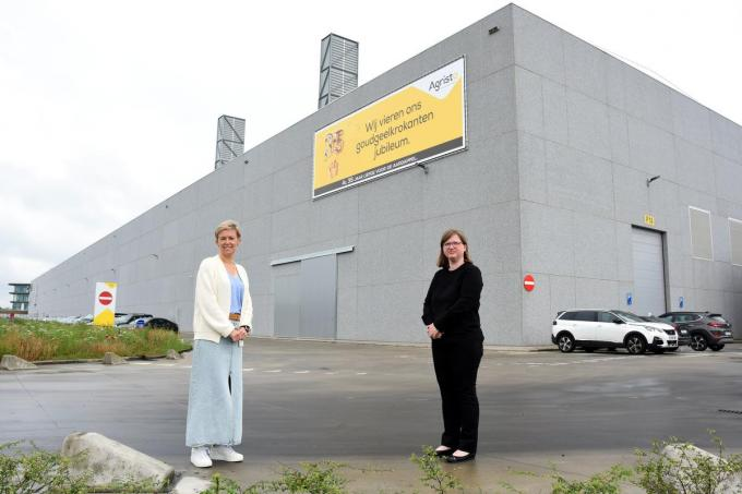 Hannelore Raes en Evelien Vermandere van Agristo.© MR