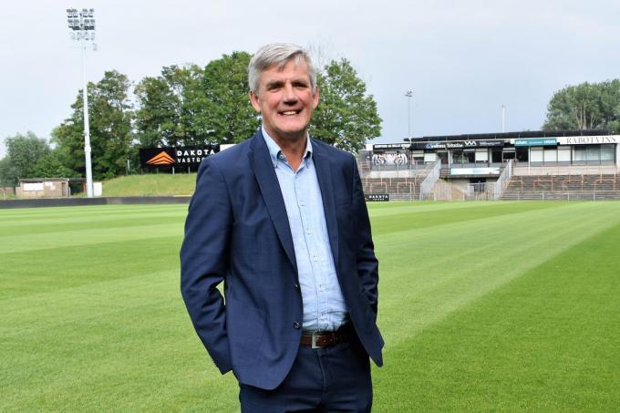 """Marc Vanmaele: """"We zijn nu de fundamenten aan het leggen om over enkele jaren de promotie naar 1A te ambiëren.""""©TOM VAN HOUTTE foto TVW"""