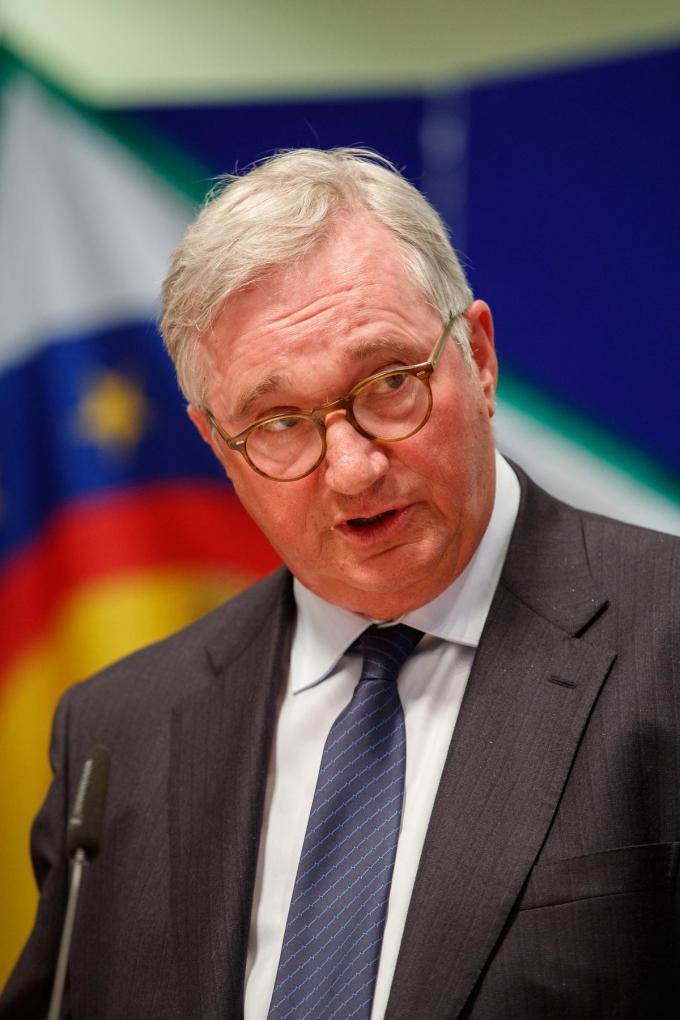 Koksijds burgemeester Marc Vanden Bussche.©KURT DESPLENTER BELGA