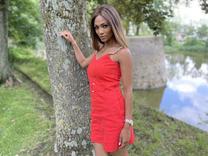 Miss België Kedist Deltour had een nare ervaring in Limburg.© gf