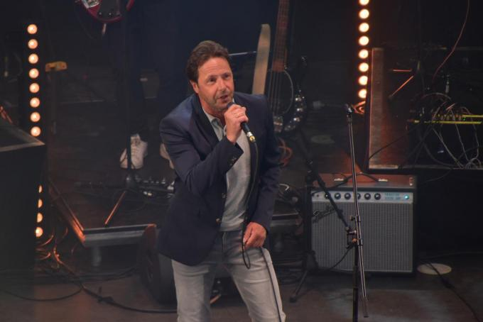 Peter Van Laet was zo bij dat hij weer kon zingen.© PADI/Jens