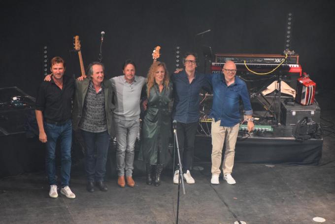 Peter en zijn uitstekende muzikanten.© PADI/Jens