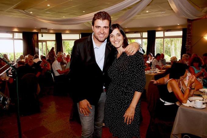Jan en Charlotte in Landhuis De Kleine Prins in Kruiseke.© PADI/Daniël
