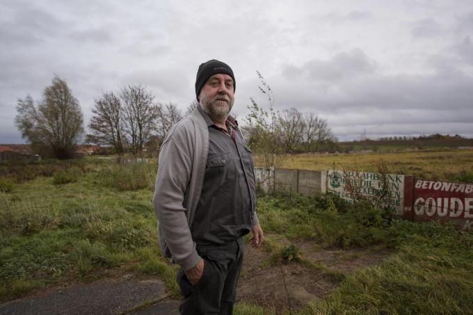 Gemeenteraadslid Danny Lefebvre verhuist naar de Monteberg in Heuvelland.©MICHAEL DEPESTELE MD