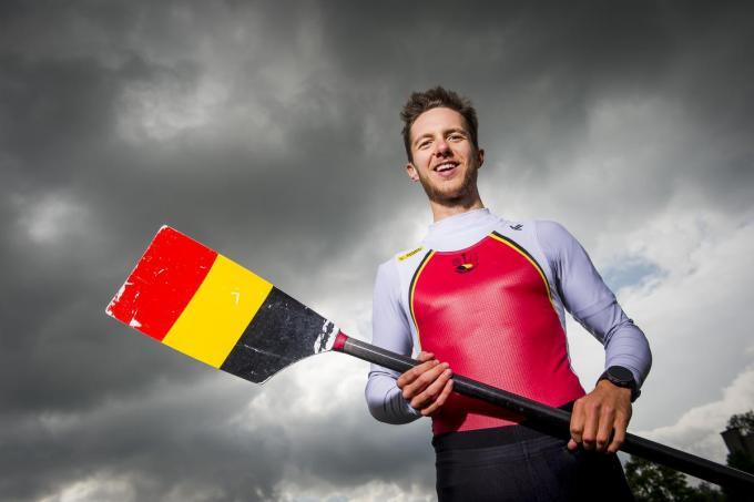 Niels Van Zandweghe is in Tokio één van de West-Vlaamse kanshebbers op een medaille. (foto Belga)© BELGA