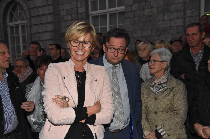 De anti-CD&V-coalitie in Menen, die oud-burgemeester Martine Fournier buitenspel zette, zorgde voor heel wat reactie toen.