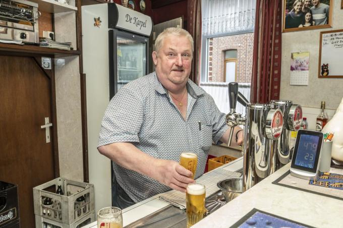 Rik Bossu is de vierde generatie in Café De Karel en hij hoopt de herberg nog vele jaren te kunnen runnen.