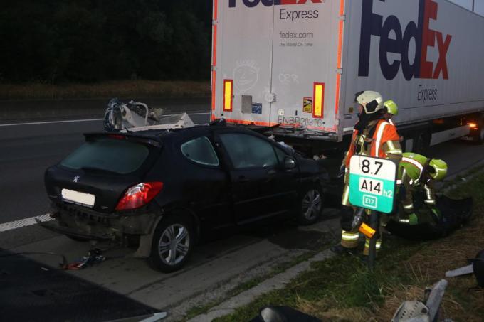 Emmely had geen enkele kans om het ongeval te overleven.
