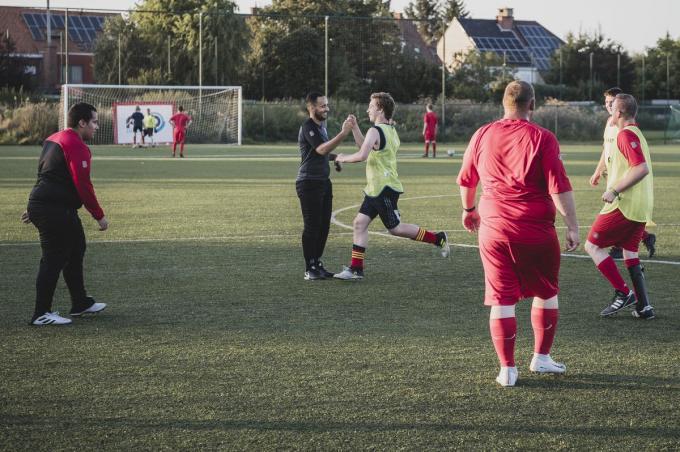Het G–voetbal van KV Kortrijk telt een kleine 40 spelers.