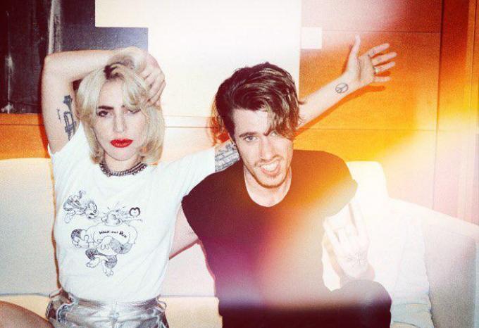Lady Gaga en Tom, zijn goede vriendin én baas.