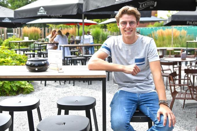 Arthur Depoortere, uitbater van Bar Lionel en zoon van Kurt Depoortere van 't Leeuwke.